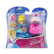 Mini princesse : cendrillon : 2 look - poupee disney princesse